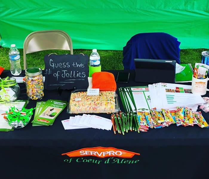 Golf Tournament Photo of SERVPRO booth