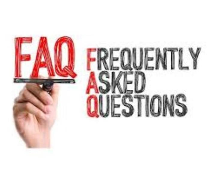 Red and White- FAQ Frequently Asked Questions picture