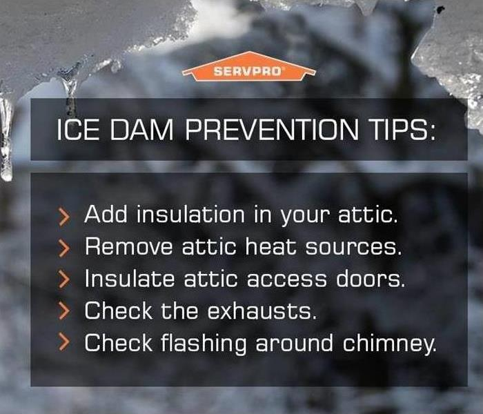 5 Ice Dam prevention tips